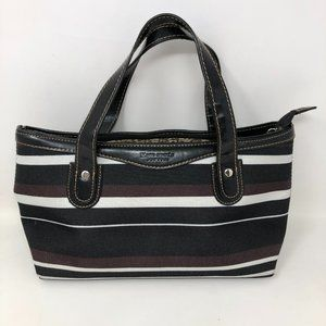 Kate Spade Vintage Handbag Tote Purse Striped